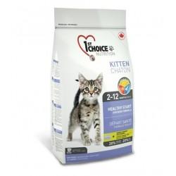 1st CHOICE KITTEN  HEALTHY START «ЗДОРОВЫЙ СТАРТ», Корм для котят 2-12 месяцев (курица).