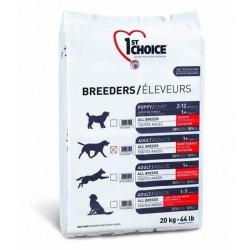 1ST CHOICE BREEDERS ADULT PERFORMANCE/REPRODUCTION ALL BREED, корм для активных собак всех пород (курица).