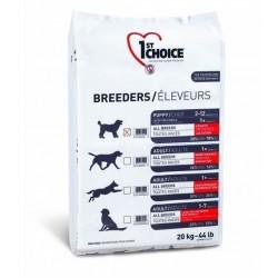 1ST CHOICE BREEDERS PUPPY MEDIUM & LARGE BREED, корм для щенков средних и крупных пород, а так же для кормящих сук в период лактации (курица).