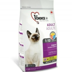 1ST CHOICE FINICKY ADULT, Корм для привередливых кошек с 1 до 10 лет (курица).