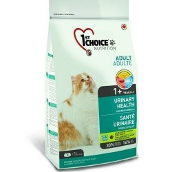 1ST CHOICE URINARY HEALTH ADULT, Корм для взрослых кошек с 1 года для предотвращения образования камней мочевого пузыря (курица).