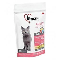 1ST CHOICE INDOOR VITALITY ADULT, Корм для взрослых кошек с 1 года до 10 лет (курица).