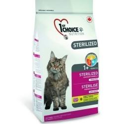 1ST CHOICE STERILIZED GF ADULT, беззерновой корм для стерилизованных кошек с 1 года (курица с бататом)