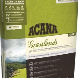 Acana Grasslands Cat, беззерновой корм для котят и кошей всех пород с ягненком