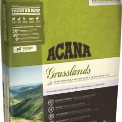Acana Grasslands Dog, беззерновой корм для собак всех пород и возрастов с ягненком