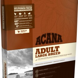 Acana Adult Large Breed, корм для взрослых собак весом более 25 кг (цыпленок, индейка)