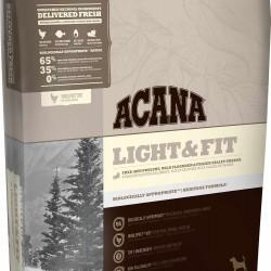 Acana Light & Fit, облегченный корм для взрослых собак всех пород старше 1 года (цыпленок, индейка)