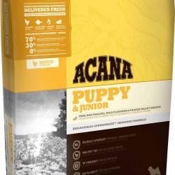 Acana Puppy & Junior, для щенков средних пород (цыпленок, индейка)