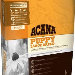 Acana Puppy Large Breed, корм для щенков крупных пород  (цыпленок, индейка)