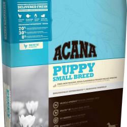 Acana Puppy Small Breed, корм для щенков мелких пород (цыпленок, индейка)