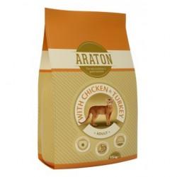ARATON Adult Chicken&Turkey, корм для кошек с курицей и мясом индейки