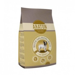 Araton Adult Salmon & Rice, корм для взрослых собак с лососем и рисом