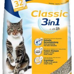 Biokat's Classic 3in1, комкующийся натуральный наполнитель для кошек