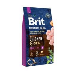 Brit Premium by Nature Adult S,  корм для взрослых собак маленьких пород (1–10 кг)