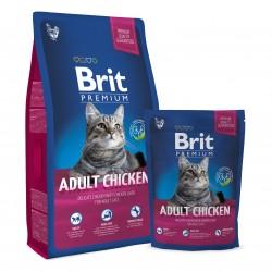 Brit Premium Cat Adult Chicken, КОРМ ДЛЯ ВЗРОСЛЫХ КОШЕК. НЕЖНАЯ КУРИЦА С СОУСОМ ИЗ КУРИНОЙ ПЕЧЕНИ.