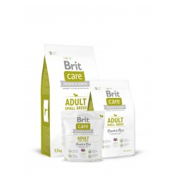 Brit Care Adult Small Breed Lamb & Rice (Ягненок и рис), корм ДЛЯ СОБАК МАЛЫХ ПОРОД