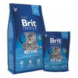 Brit Premium Cat Kitten, КОРМ ДЛЯ КОТЯТ. КУРИЦА В СОУСЕ ИЗ ЛОСОСЯ