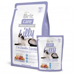 Brit Care Cat Lilly Sensitive Digestion, ГИПОАЛЛЕРГЕННЫЙ БЕЗЗЕРНОВОЙ КОРМ С ЯГНЕНКОМ И ЛОСОСЕМ ДЛЯ КОШЕК С ЧУВСТВИТЕЛЬНЫМ ПИЩЕВАРЕНИЕМ