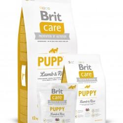 Brit Care Puppy Lamb & Rice (Ягненок и рис), ГИПОАЛЛЕРГЕННАЯ ФОРМУЛА ДЛЯ ЩЕНКОВ И ЮНИОРОВ ВСЕХ ПОРОД (4 НЕДЕЛИ - 12 МЕСЯЦЕВ)