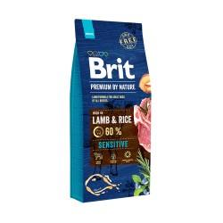 Brit Premium Cat Sensitive,  ГИПОАЛЛЕРГЕННЫЙ КОРМ  ДЛЯ КОШЕК С ЧУВСТВИТЕЛЬНЫМ ПИЩЕВАРЕНИЕМ. ЯГНЕНОК И РИС