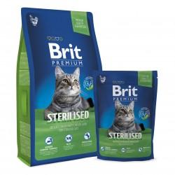 Brit Premium Cat Sterilised, КОРМ  ДЛЯ КАСТРИРОВАННЫХ КОТОВ И СТЕРИЛИЗОВАННЫХ КОШЕК. НЕЖНАЯ КУРИЦА С КУРИНОЙ ПЕЧЕНЬЮ
