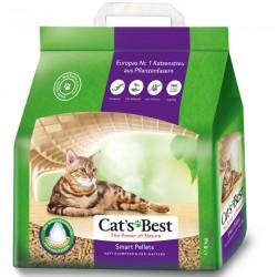 Cat's Best Smart Pellets, древесный комкующийся наполнитель для длинношерстных кошек