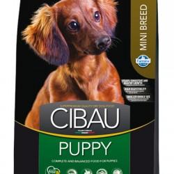 Farmina Cibau Puppy Mini, корм для щенков мелких пород, беременных и кормящих собак.