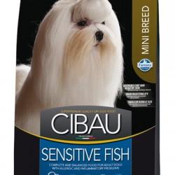Farmina Cibau Sensitive Fish Mini, корм для взрослых собак мелких пород