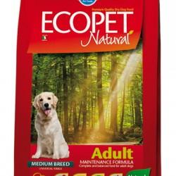 Farmina ECOPET NATURAL MEDIUM, корм для взрослых собак средних пород пород