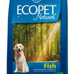 Farmina ECOPET NATURAL Fish, корм с рыбой для взрослых собак средних пород