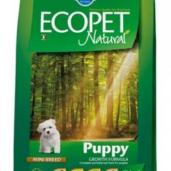 Farmina ECOPET NATURAL PUPPY MINi, корм для щенков, беременных и лактирующих сук