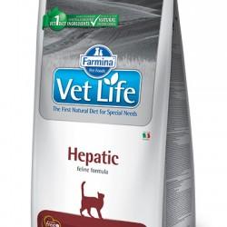 Farmina Vet Life Hepatic,  диетический сухой корм для кошек при хронической печеночной недостаточности