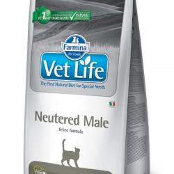 Farmina Vet Life Neutered Male, полнорационный и сбалансированный сухой корм для правильного питания взрослых кастрированных котов.