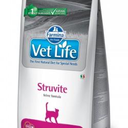 Farmina Vet Life Struvite, Диетическое питание для кошек при струвитном уролитиазе и идиопатическом цистите