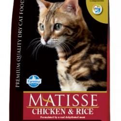Farmina Matisse Chicken& Rice. корм для взрослых кошек (курица/рис).