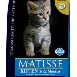 FARMINA MATISSE KITTEN Полнорационный и сбалансированный корм для котят, беременных и кормящих кошек.