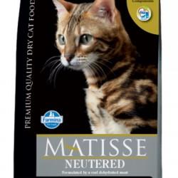Farmina Matisse Neutered. корм для взрослых стерилизованных кошек и кастрированных котов