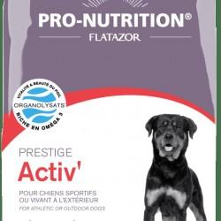 Flatazor Prestige Activ, корм для активных собаки собак с мясом птицы