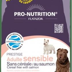 Flatazor Prestige Adult Sensible Sanscereale/Ausaumon, корм для собак с чувствительным пищеварением (с лососем)