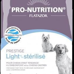 Flatazor Prestige Light/Sterilise, корм для стерилизованных собак и/или для собак, страдающих лишним весом с мясом птицы
