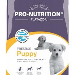 Flatazor Prestige Puppy, полнорационный корм супер-премиум класса для щенков, беременных и кормящих сук всех пород.
