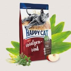 Happy Cat Supreme Adult Альпийская говядина, корм для кошек
