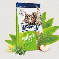 HAPPY CAT ADULT INDOOR ПАСТБИЩНЫЙ ЯГНЕНОК, корм для кошек с чувствительным пищеварением