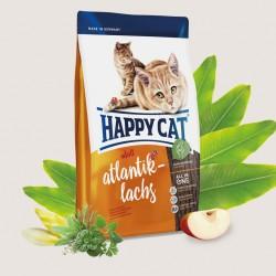 HAPPY CAT SUPREME АТЛАНТИЧЕСКИЙ ЛОСОСЬ, корм для кошек