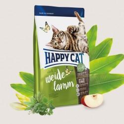 Happy Cat Supreme Adult Пастбищный ягненок, корм для кошек с чувствительным пищеварением