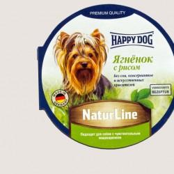 Happy Dog Ягненок с рисом, паштет для собак