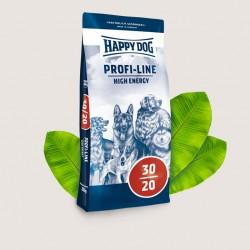 Happy Dog Profi-Line High Energy, Высококалорийный полнорационный сбалансированный корм для взрослых собак с повышенными потребностями в энергии