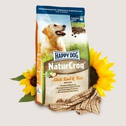 Happy Dog  NaturCroq Rind&Reis (Говядина и рис), полнорационный корм для взрослых собак