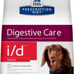 Hill's Prescription Diet i/d Stress Canine Mini Chicken (Курица), лечебная диета для собак мелких и миниатюрных пород (до 14 кг) при расстройствах пищеварения. вызванных стрессом
