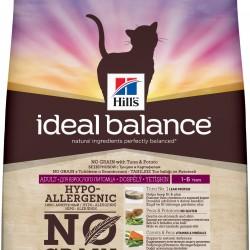 Hills Ideal Balance™ Feline Adult NO GRAIN (Тунец с картофелем), беззерновой корм для кошек от 1 до 7 лет